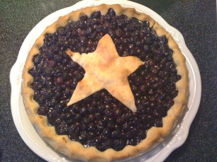 Blueberry Pie: Vegetarian & Vegan Collection @MintGrapefruit