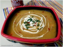 Sweet Potato Soup: Vegetarian & Vegan Collection @MintGrapefruit