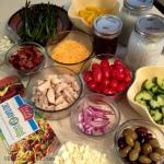 Salad Swap Fixin's via MintGrapefruit.com #saladswap #momsmeet