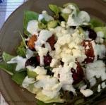 Creamy Salad via MintGrapefruit.com #saladswap #momsmeet